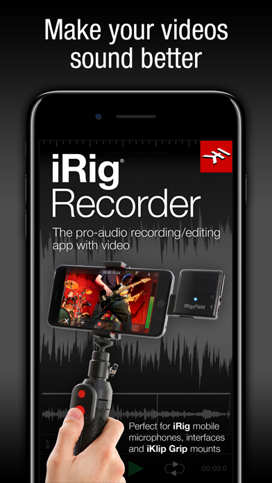Screenshot #1 pour iRig Recorder