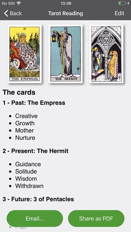 Tarot Journal screenshot-6