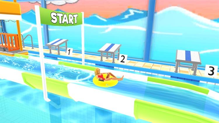Uphill Rush Water Park Racing screenshot-0