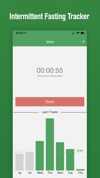 Vora - Fasting Tracker screenshot-0