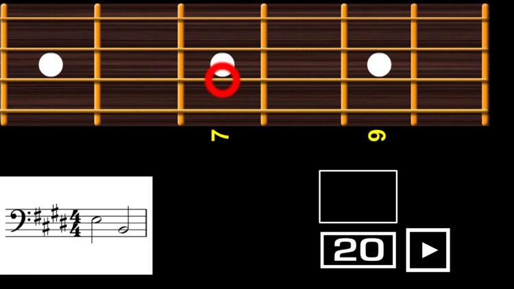 Reading Bass sheet music PRO screenshot-6