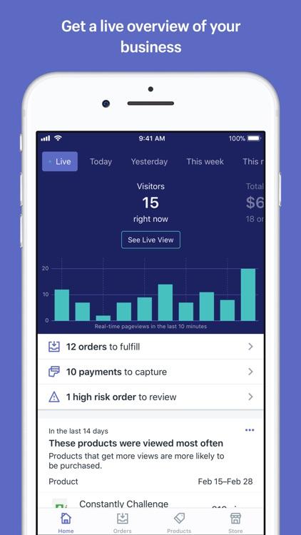 Shopify - Ecommerce Business screenshot-0