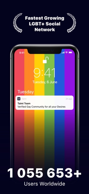 Taimi: LGBTIQ+ Dating, Chat on the App Store