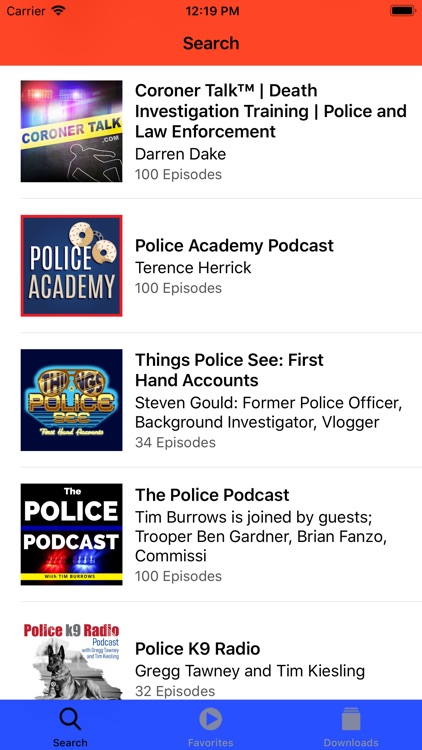 Police & Fire Radio Scanner screenshot-3