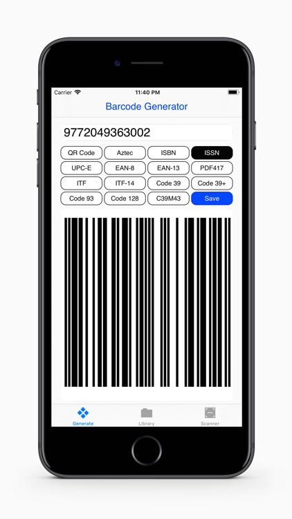 Barcodes Generator screenshot-5