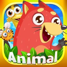 奇妙拼图世界-宝宝动物游戏大全