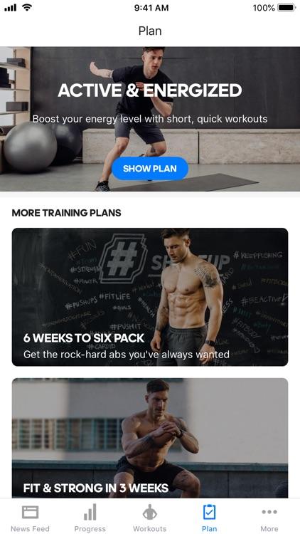 Runtastic Results Bodyweight