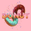 Donuts Deluxe Stickers