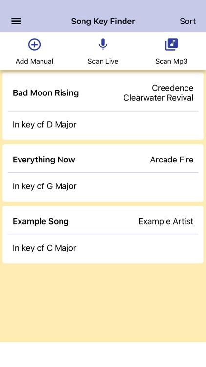 Song Key Finder screenshot-3