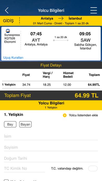 Screenshot for Ucuzabilet - Flight Tickets in Azerbaijan App Store