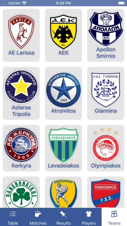 InfoLeague, Greek Super League