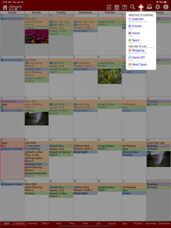 myCal PRO: Calendar & Event Organizer screenshot
