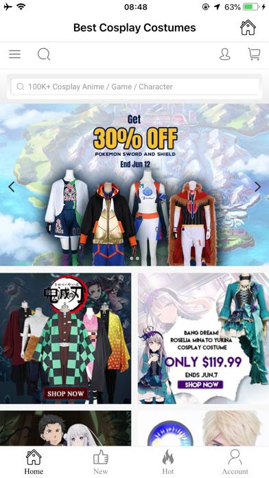 EZCosplay Costumes screenshot 1