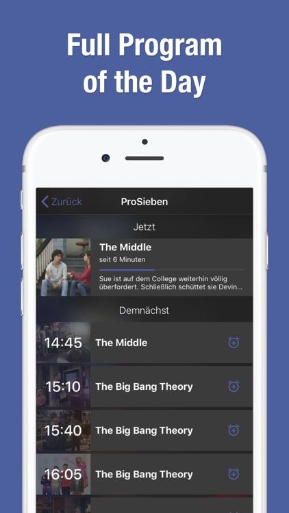 TV Guide & TV Schedule TV.de screenshot-3
