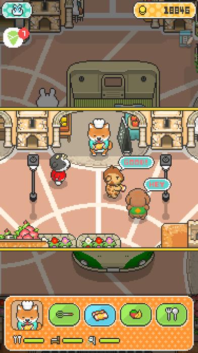 柴犬のクレープ屋さん - かわいい犬たちと一緒に料理しよう! - 窓用