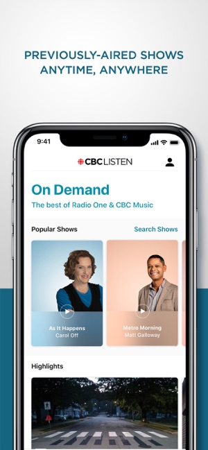 CBC Listen on the App Store