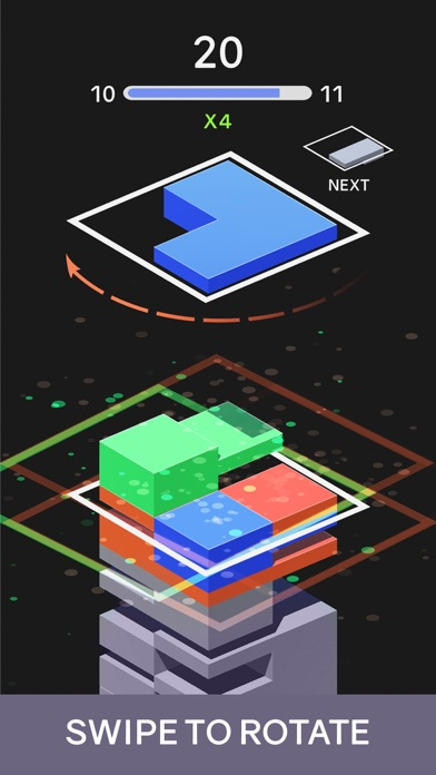 Tile Stack Puzzle Tower screenshot 2