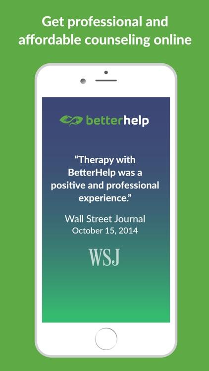 BetterHelp - Online Counseling screenshot-0
