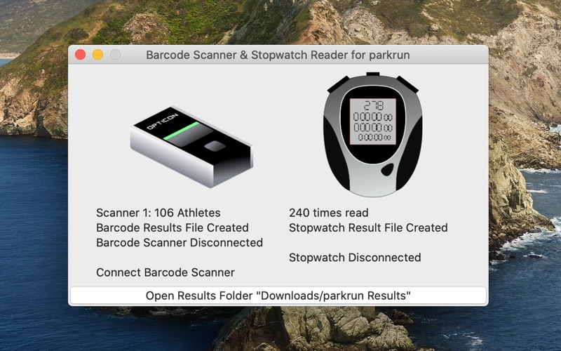 Scanner & Stopwatch for Mac