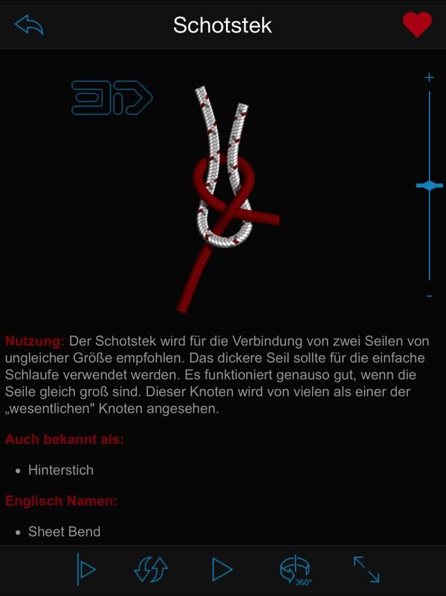 Knoten 3d Screenshot