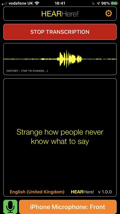 HearHere screenshot 1