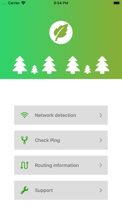 Green - Network tool