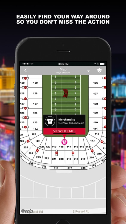 UNLV Rebel Athletics Gameday screenshot-4
