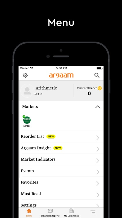 Argaam - أرقام screenshot-6