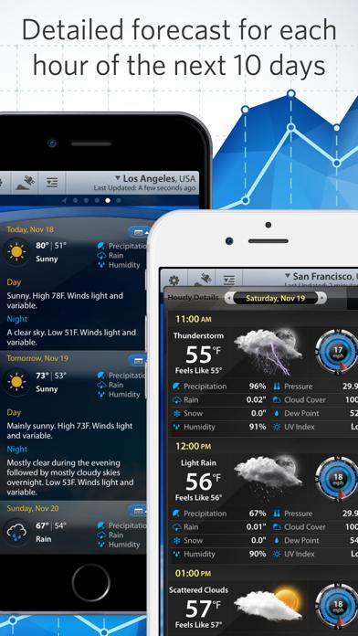 Screenshot for Weather Mate - NOAA Radar Maps in Indonesia App Store