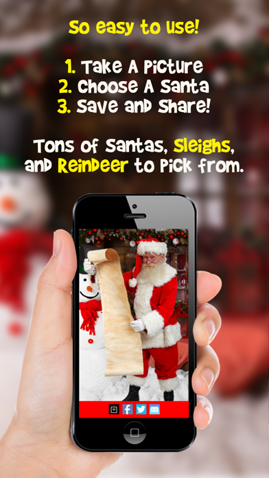Snapshot Santa Photo Booth PRO Screenshot on iOS