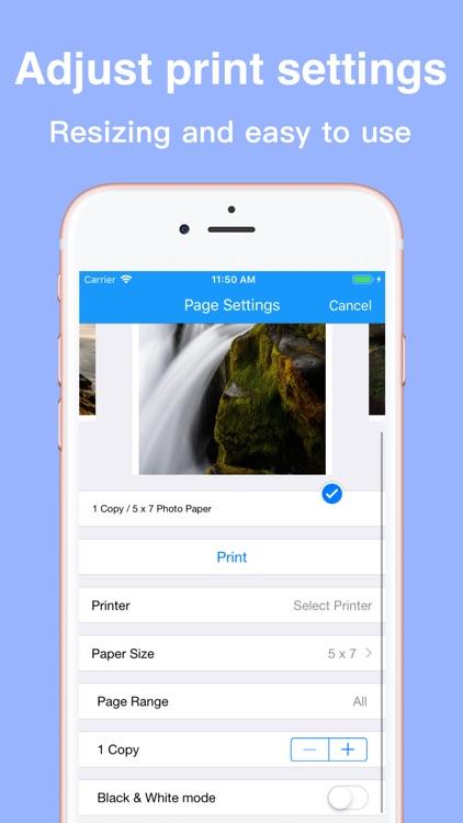 Printsmart-WiFi printer app screenshot-5