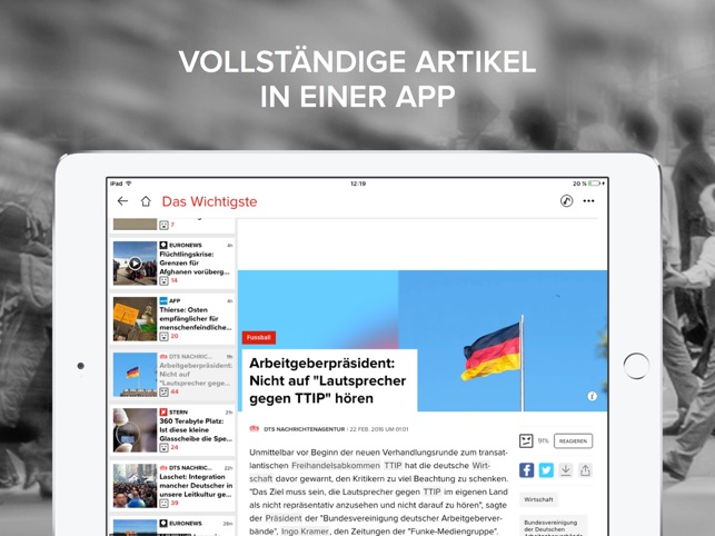 News Republic – Nachrichten Screenshot