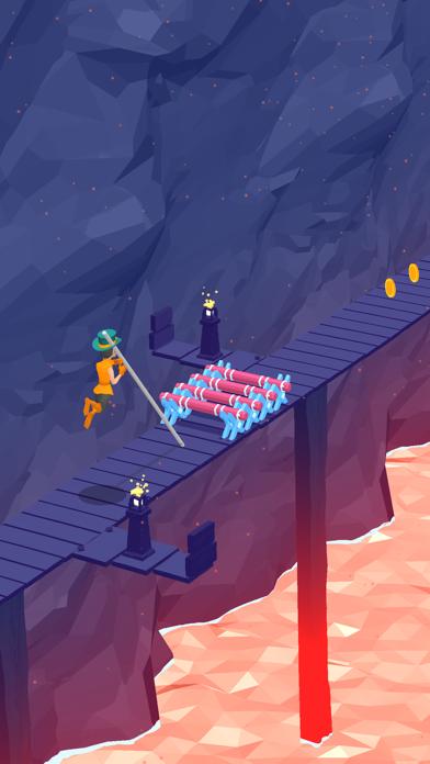 Pole Runner! screenshot 1