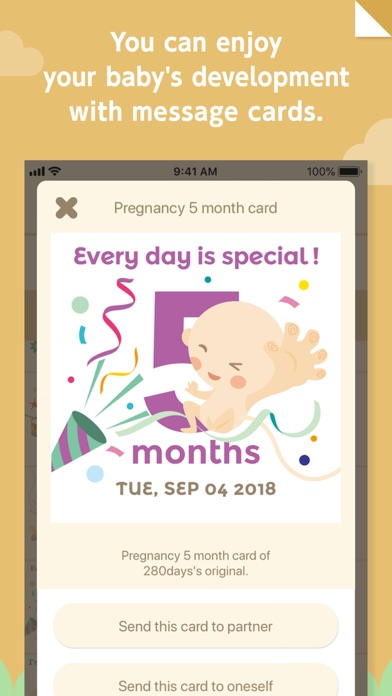 280days : Pregnancy Diary AppScreenshot of 8