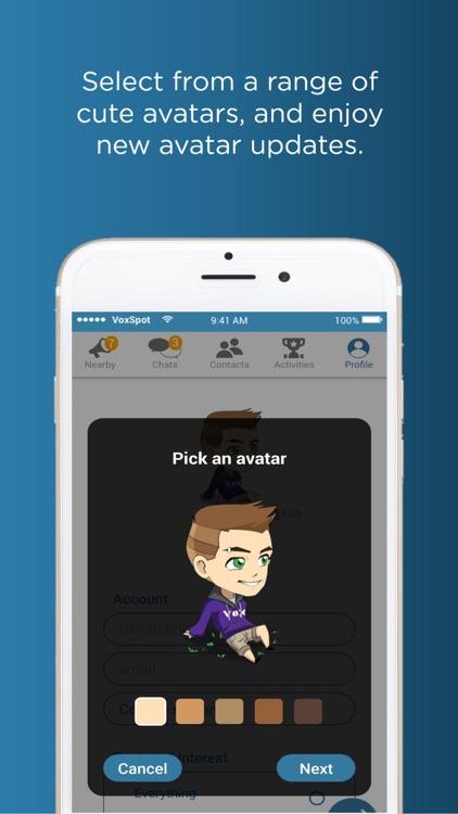 VoxSpot Chat screenshot-5