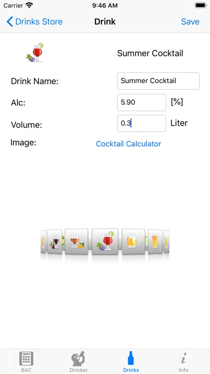 iBAC Calculator