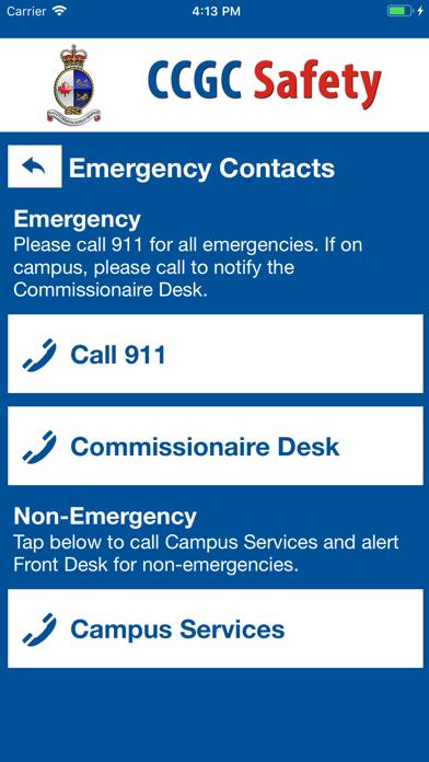 CCGC Safety screenshot 2