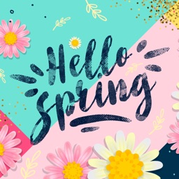 Hello Spring! Easter Stickers
