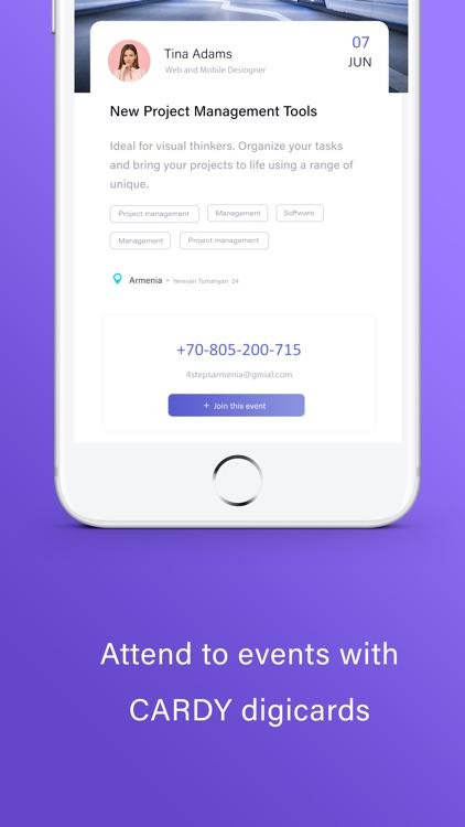 CARDY - Business Networking screenshot-5