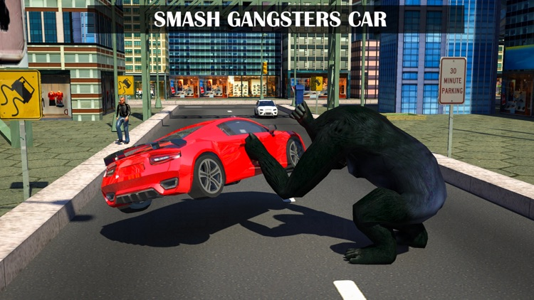 Gorilla Rope Hero Vice Town 3d screenshot-1