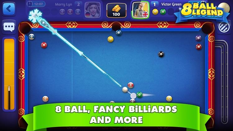 8 Ball Legend - Online Pool screenshot-3