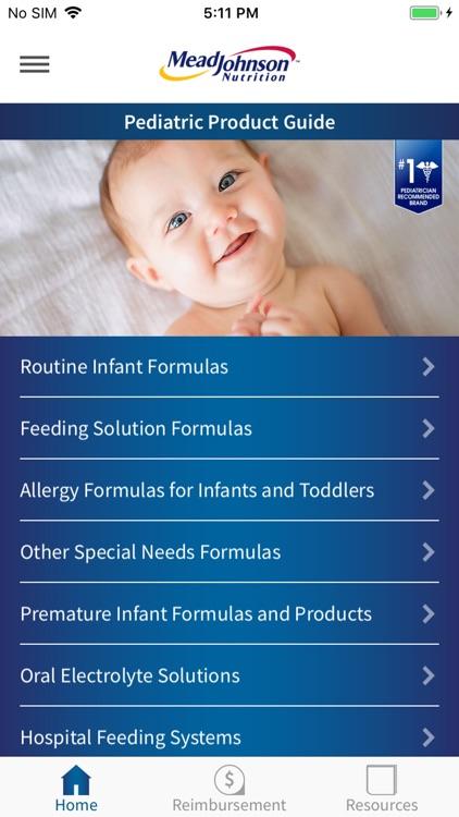 MJN Pediatric Product Guide