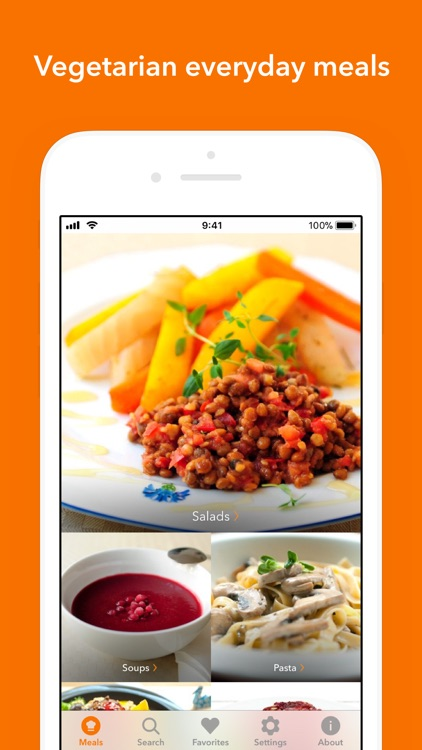 Veggie Meals screenshot-0