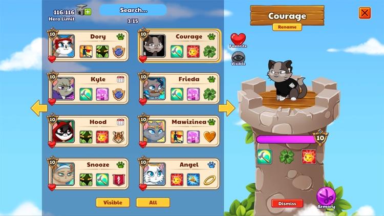 Castle Cats - Idle Hero RPG screenshot-5