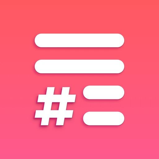 Caption & Hashtag for likes