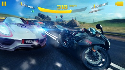 Screenshot from Asphalt 8: Airborne