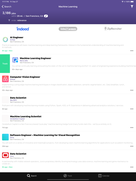 JobAware: Job search just got smarter screenshot
