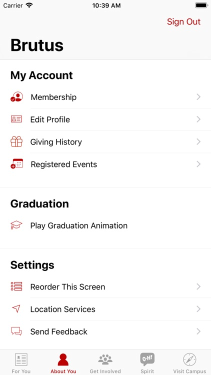 Ohio State Alumni screenshot-2