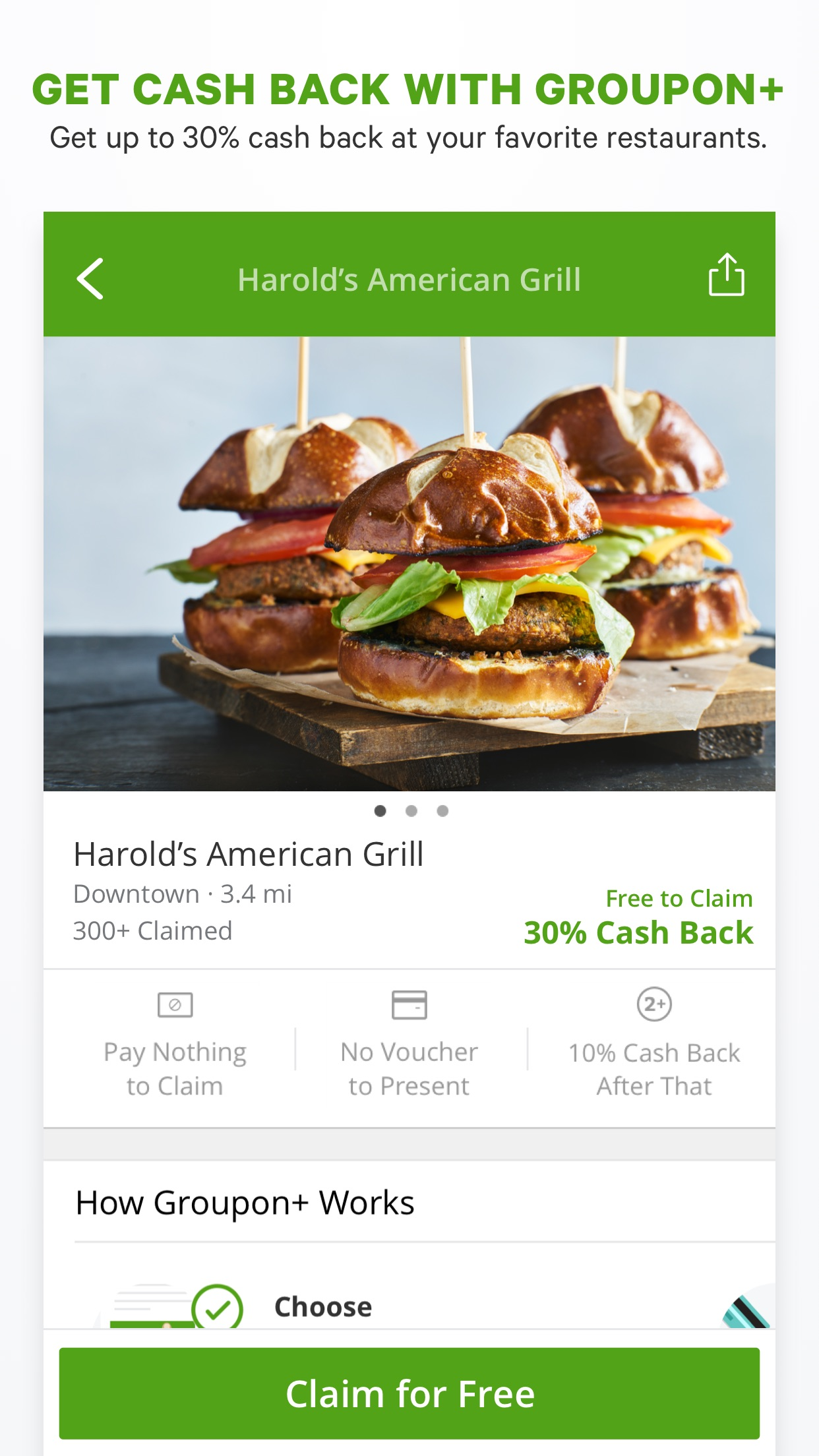 Groupon Screenshot