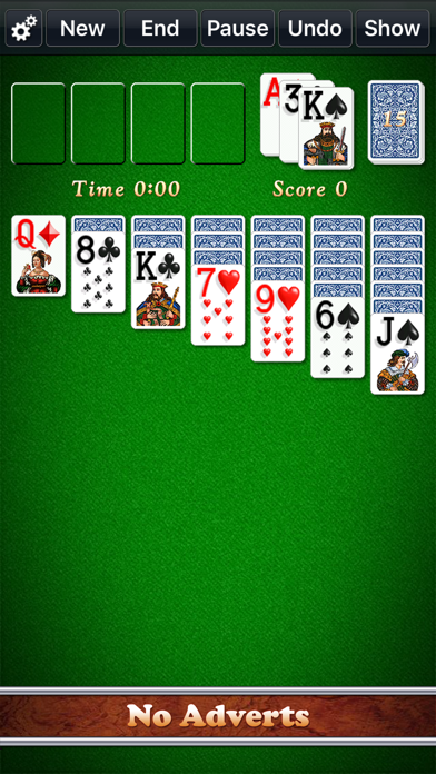 Solitaire City (Ad Free) screenshot one
